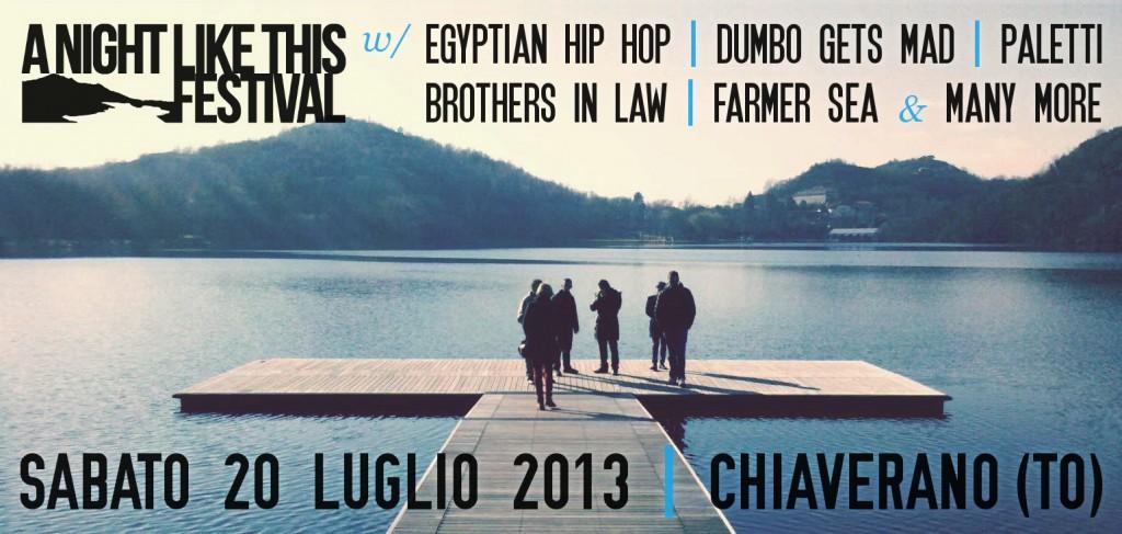 primi nomi per A Night Like This Festival 2013