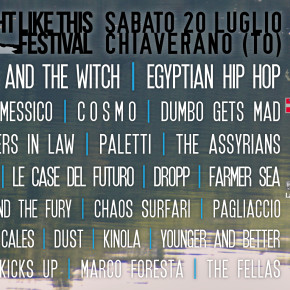 A NIGHT LIKE THIS FESTIVAL 2013 LINE-UP