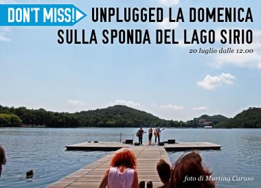 unplugged sul lago sirio